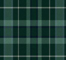 02777 Marin County, California Fashion Tartan  Sticker