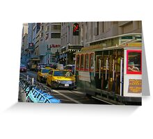 San Francisco Powell and Sutter Greeting Card