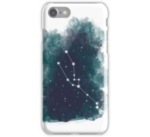 Watercolour Zodiac - Taurus iPhone Case/Skin