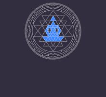 Sri Chakra Blue Meditation  Unisex T-Shirt