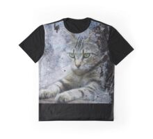 The Painter's Cat Graphic T-Shirt