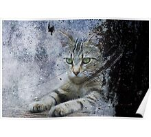The Painter's Cat Poster