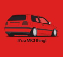 MKIII Gti Graphic Baby Tee