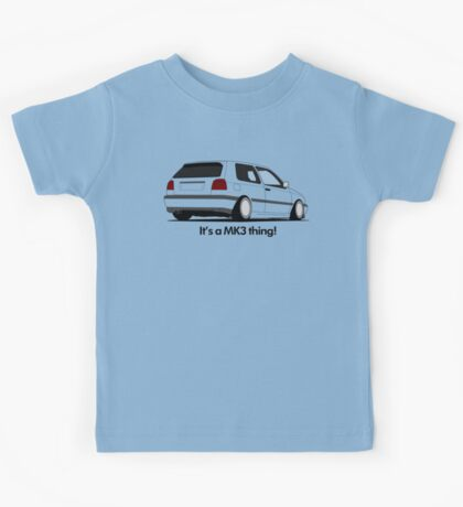 MKIII Gti Graphic Kids Tee