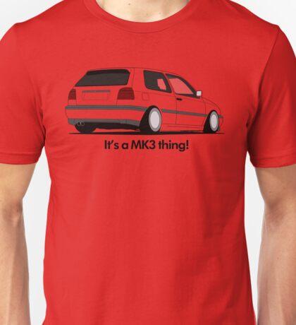 MKIII Gti Graphic Unisex T-Shirt