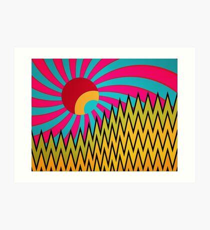 Ǎḃȱṿɇ Îẗ Art Print