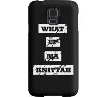 My Knittah Samsung Galaxy Case/Skin