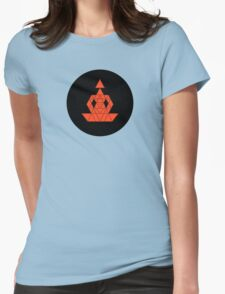 Dotty Meditation  Womens Fitted T-Shirt