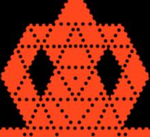 Dotty Meditation  Sticker