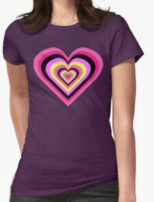 Retro Lover Womens Fitted T-Shirt