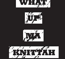My Knittah by firstashadow
