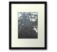 Shade + Light Framed Print