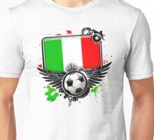 Soccer Fan Italy Unisex T-Shirt