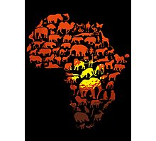 Africa The Dark Continent Photographic Print