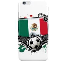 Soccer Fan Mexico iPhone Case/Skin