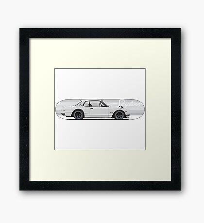 Skyline | Hakosuka | Gtr Framed Print