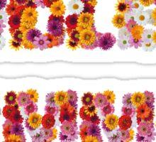 Endless Summer Flower Power Sticker