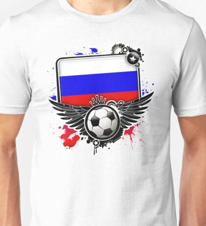 Soccer Fan Russia Unisex T-Shirt