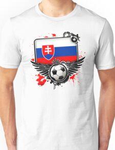 Soccer Fan Slovakia Unisex T-Shirt