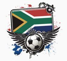 Soccer Fan South Africa by magiktees