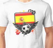 Soccer Fan Spain Unisex T-Shirt