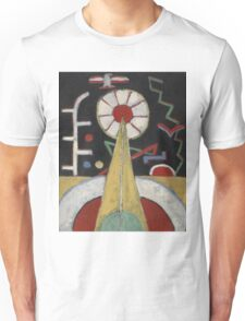 Marsden Hartley - Berlin Series No. 1. Abstract painting: abstract art, geometric, expressionism, composition, lines, forms, creative fusion, spot, shape, illusion, fantasy future Unisex T-Shirt