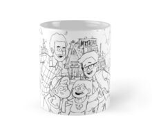 GMM & GF Crossover (BW Lineart) Mug
