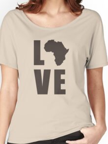 Love Africa Women's Relaxed Fit T-Shirt