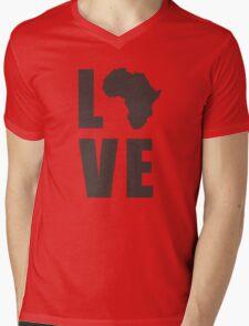 Love Africa Mens V-Neck T-Shirt