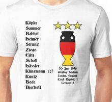 Germany Euro 1996 Winners Unisex T-Shirt