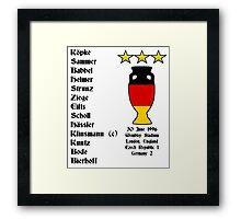 Germany Euro 1996 Winners Framed Print
