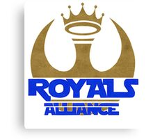 ROYALS ALLIANCE BLUE!! Canvas Print