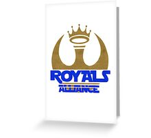 ROYALS ALLIANCE BLUE!! Greeting Card