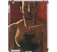 Marsden Hartley - Madawaska, Acadian Light-Heavy, Third Arrangement 1940. Man portrait: strong man, boy, male, beard, business suite, masculine, boyfriend, smile, manly, sexy men, mustache iPad Case/Skin