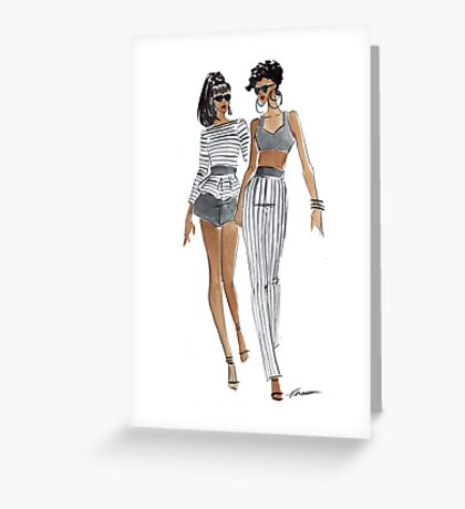 Two Cool Greeting Card