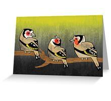 Birdies (By Terry Hamilton) Greeting Card