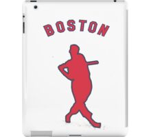 the greatest hitter who ever lived. iPad Case/Skin