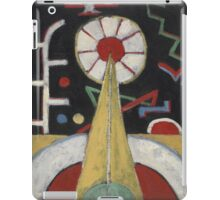 Marsden Hartley - Painting No. 3. Abstract painting: abstract art, geometric, expressionism, composition, lines, forms, creative fusion, spot, shape, illusion, fantasy future iPad Case/Skin
