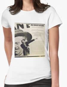 Music From Great Film Classics, Citizen Kane Womens Fitted T-Shirt