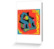 the murlocs (young blindness) Greeting Card