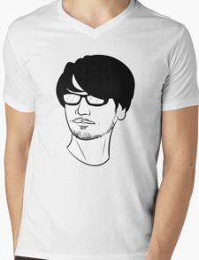 Mister Kojima Mens V-Neck T-Shirt