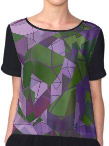 Psychedelic Geometric Pattern  Chiffon Top