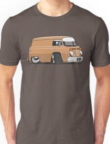 VW T2 van cartoon brown Unisex T-Shirt