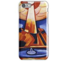 Marsden Hartley - Yliaster (Paracelsus). Abstract painting: abstract art, geometric, expressionism, composition, lines, forms, creative fusion, spot, shape, illusion, fantasy future iPhone Case/Skin
