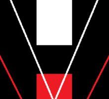 "HaXxXo VtotheZ ""HV^Z"" Black Logo Sticker"
