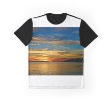 A Coffin Bay sunset Graphic T-Shirt