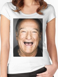 robin williams lol Women's Fitted Scoop T-Shirt