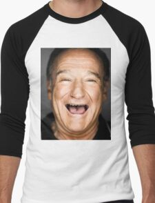 robin williams lol Men's Baseball ¾ T-Shirt