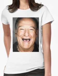 robin williams lol Womens Fitted T-Shirt