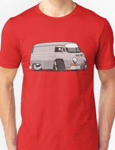 VW T2 van cartoon grey Unisex T-Shirt